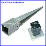 Geschweißtes galvanisiertes Metallpole-Anker-Absinken des Ankers für Bauholz-Aufbau