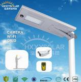 40W luz de calle solar propietaria del diseño LED