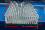 130mm 폭 알루미늄 단면도 열 싱크 130mm*38mm*100mm 길이는 주문품 할 수 있다