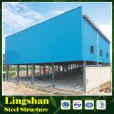 Gruppo di lavoro prefabbricato di ingegneria con la struttura del blocco per grafici d'acciaio con il buon prezzo