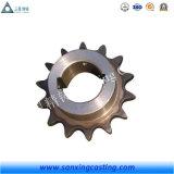 Peças sobresselentes de bronze personalizadas OEM da carcaça de areia do ferro de ASTM