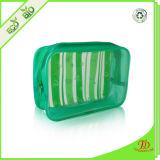 Sac de produit de beauté de course d'organisateur d'emballage de cadeau d'article de toilette de renivellement de PVC