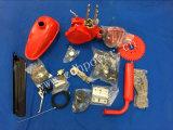 De blauwe Uitrustingen van de Motor van de Kleur 80cc met Alle Vervangstukken voor Gemotoriseerde Fiets