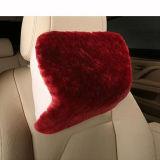Poggiacapo australiano genuino del cuscino di sostegno del collo dell'automobile della pelle di pecora