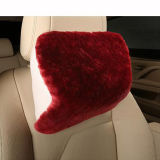 Genuine Australian Sheepskin Car Neck Support Travesseiro Headrest