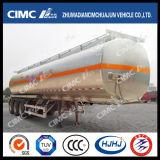 Cimc carburant /huile d'alliage d'aluminium de Huajun 3axle/camion-citerne de l'essence/Diesel/LPG