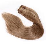 Weave reto brasileiro por atacado de Silkly do cabelo humano de Remy (BHF037)