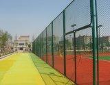 Frontière de sécurité de maillon de chaîne de PVC de qualité avec le prix bas