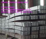 Barra lisa laminada a alta temperatura, de grande resistência, estrutural de aço do carbono do edifício