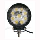 """24V / 12V 5 """"27W LED de la lámpara del trabajo de la maquinaria agrícola"""