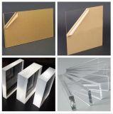 Transparentes Form-Raum-Acryl-Blatt