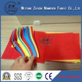 Рециркулировано Закручивать-Скрепите Non сплетенную ткань используемую для хозяйственных сумок