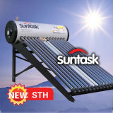 Calefator de água solar pressurizado elevado compato (STH)