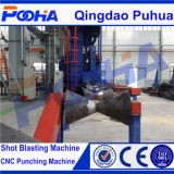 Qgw Steel Pipe Surface Shot Blasting Machine para Derusting