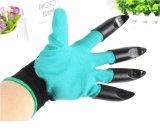 爪が付いている渡された庭の魔神の手袋