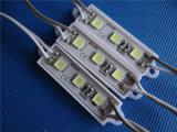 Module léger 3chips 5054 du signe imperméable à l'eau DEL