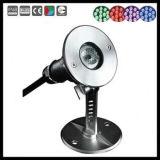3W 스테인리스 LED 수중 빛