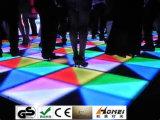 DMX RGB Dancing Floor 1 * 1m Panel Dancing Dance Contrôle vocal Stage Light Party Disco DJ Club LED Effect