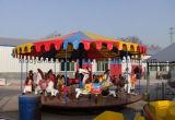 De eenvoudige Ritten van het Paardrijden van de Carrousel van de Glasvezel van het Vermaak Met 10 Zetels