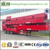 De Semi Aanhangwagen van de Vrachtwagen van de Lading van de Zijgevel van het Slot van de Container van het nut 40FT