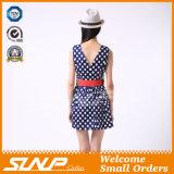 Vêtements minces de robe de dames de femmes de fille d'ajustement de mode neuve