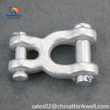 Conexión rápida galvanizada de acero del gancho de leva de la conexión rápida del broche de presión