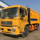 Prezzo cubico del camion di immondizia dei tester del camion 15 dei rifiuti di Dongfeng 15t LHD
