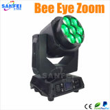 Bienen-Auge LED 7*15W 4 in 1 Summen-beweglichem Hauptträger-Licht