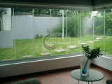 glace Tempered de 10mm Frameless pour la balustrade