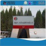 Signe fixé au mur de construction en aluminium d'index de Staire