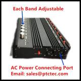 emittente di disturbo senza fili del segnale di 10bands CDMA/GSM/PCS/3G/4G rf