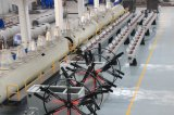 Tubo plástico - cadena de producción del tubo de los tubos de la electricidad del PVC