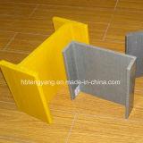 Profilo di plastica a forma di ad alta resistenza di FRP H T
