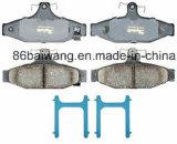 Audi A6를 위한 D839 브레이크 패드