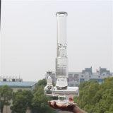 Tubo de agua de cristal del nuevo color que fuma multi americano hecho a mano 2016 con un tazón de fuente de cristal