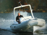 Aqualand 19feet Rigid Inflatable Fishing Boat 또는 Rib Motor Boat (RIB580S)