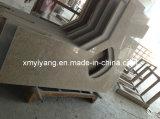 Сляб гранита желтого цвета захода солнца Китая G682 для Countertop и плитки