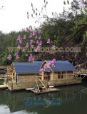 Casa de madera hecha en fabricantes de madera de la casa de China