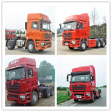 Shacman 주요하 발동기 4X2 Tractor Truck Cheap Price