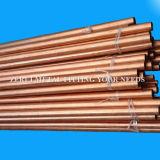 Tubo de cobre de doblez recto para el agua y el gas