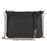 Lichee Pattern PU Leather Cross Body Bag Designer Women Bag