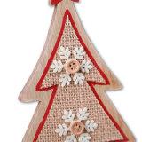 Diseño de madera del Mini-Árbol para la decoración de la Navidad o la decoración del tablero de la mesa en existencias