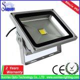 순수한 알루미늄 주거 20W LED 플러드 전등 설비