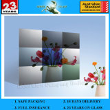 espejo arquitectónico helado grabado al agua fuerte ácido decorativo del arte Am-77 de 3-6m m/espejo puesto a contraluz