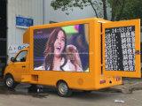 petit DEL véhicule de publicité mobile d'étalage d'écran de 4X2