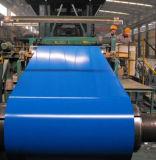 (0.13--1.3 mm) Dx51dカラーはPPGIによって電流を通されたPrepainted鋼鉄コイルに塗った