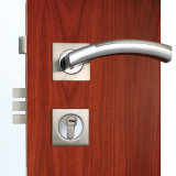 Privacidade Mortise Door Lock com Wave Design Handle