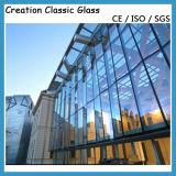 vetro di finestra isolato Tempered Basso-e di 6mm+12A+6mm
