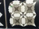 Blumen-Form-preiswerte Preis-Raum-Fußboden-Fliese-weiße Marmorfliese