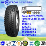 Carro Bus Drive Tyre, Boto Cheap Price Truck Tyre 295/80r22.5